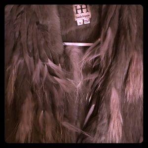 Haute hippie fur vest